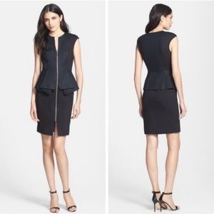 Ted Baker | Jumana Peplum Zip Career Dress